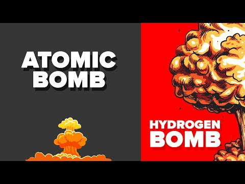 Atomic Bomb vs Hydrogen Bomb - How Do They Compare