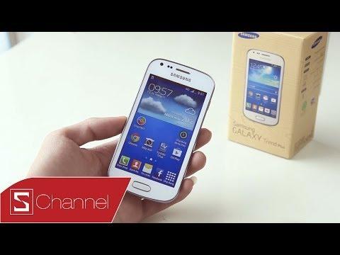 Schannel - Đánh giá chi tiết Galaxy Trend Plus - CellphoneS