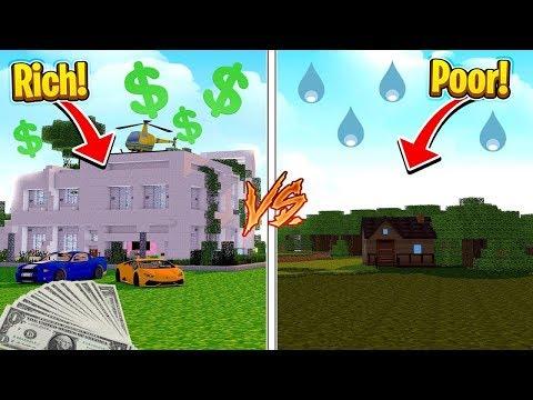 $10 House Vs $10,000,000 House - Minecraft Noob Vs Pro Challenge