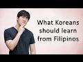 韓国人がフィリピン人から学ばなければならない重要なコト(英語に関して)【フィリピンの反応】