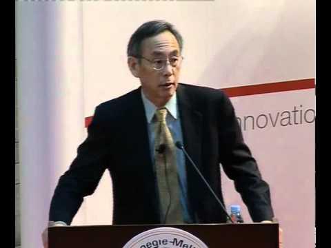 U.S. Secretary of Energy Steven Chu Lectures on New Energy Technologies