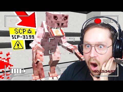 SCP-3199 m'a ATTAQUÉ sur Minecraft survie FNAF / SCP #3