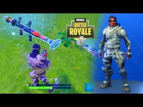 *NEW* ABSOLUTE ZERO OUTFIT GAMEPLAY! Fortnite Battle Royale Gameplay