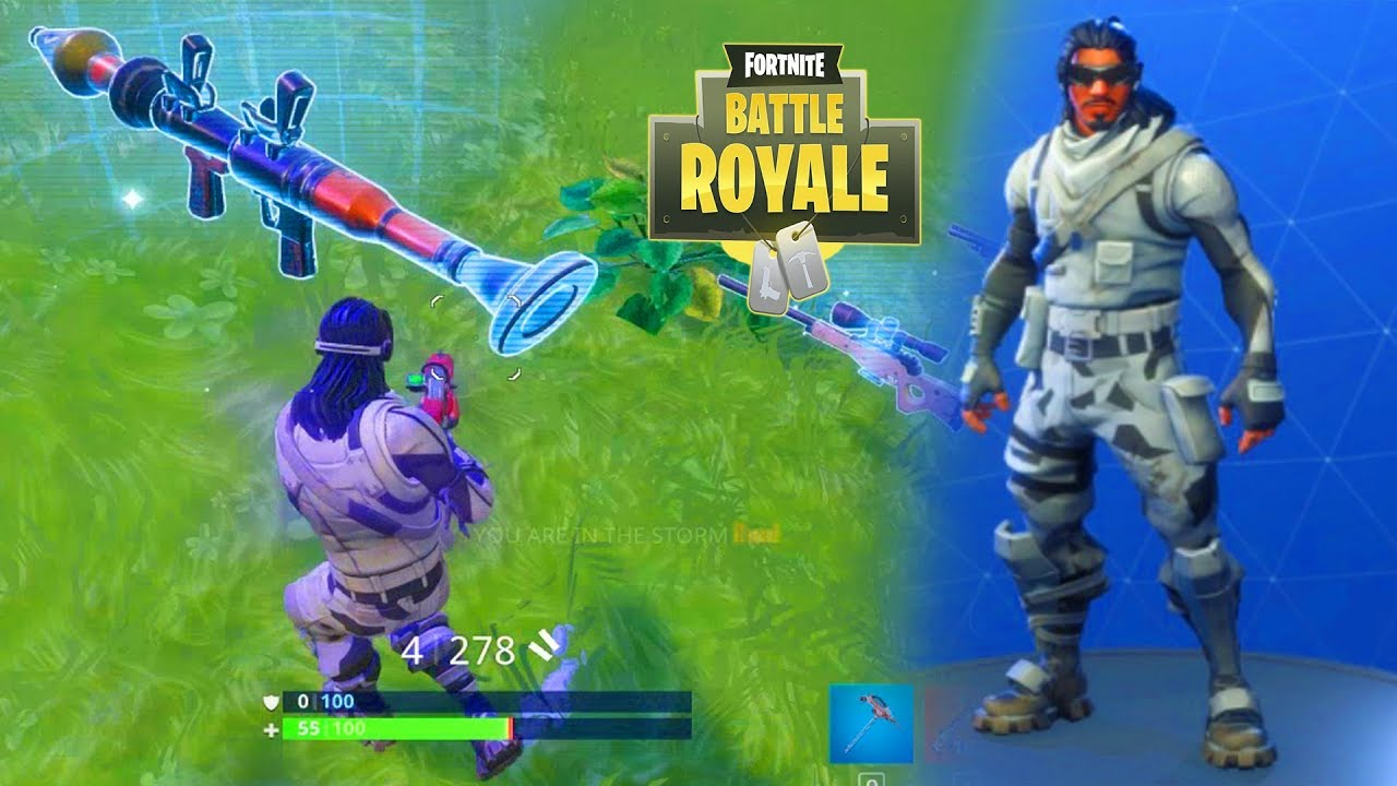 Absolute Zero Fortnite Skin Arctic Snow Outfit