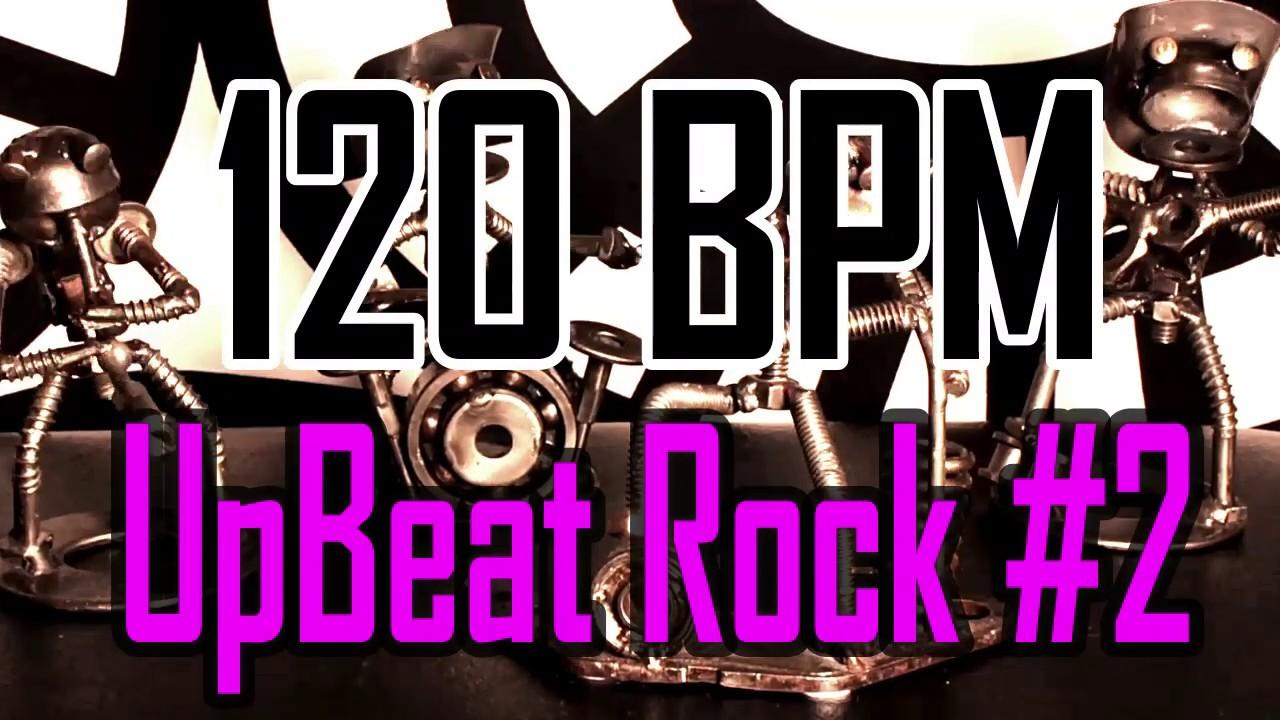 120 BPM - Upbeat Rock #2 - 4/4 Drum Beat - Drum Track