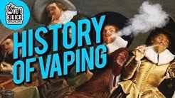 History of Vaping | NO.1 EJUICE UK