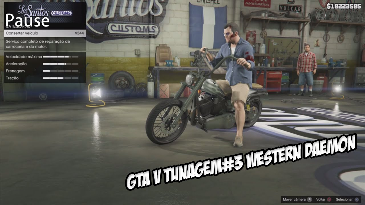 Gta V Western Daemon