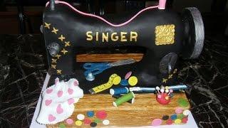Cake Sewing Machine Singer