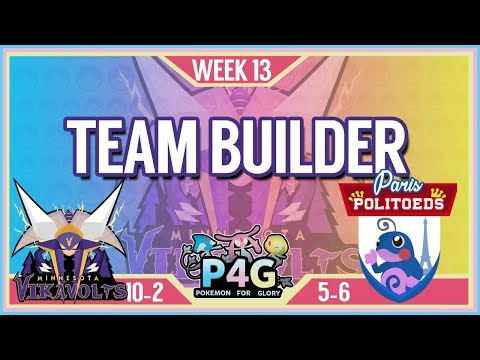 Minnesota Vikavolts Team Building P4G S2 Week 13: VS Paris Politoads | Pokemon Sun and Moon