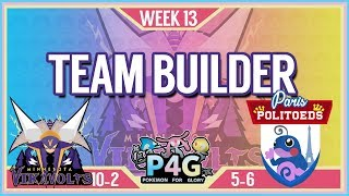 Minnesota Vikavolts Team Building P4G S2 Week 13: VS Paris Politoads   Pokemon Sun and Moon