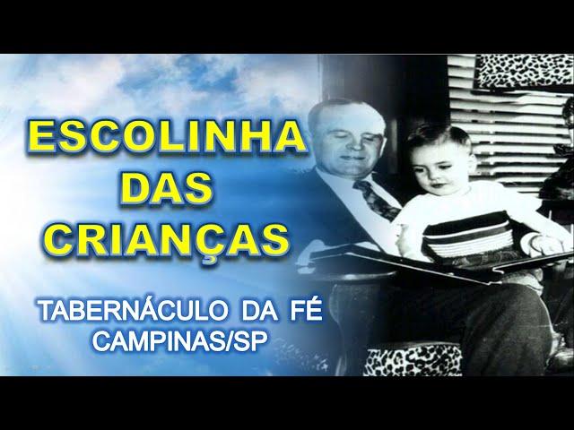 13.12.2015 - Escolinha das crianças - Tabernáculo da Fé Campinas/SP