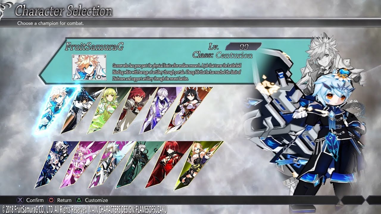 Elsword Na Character Selection 20 In Progress Youtube