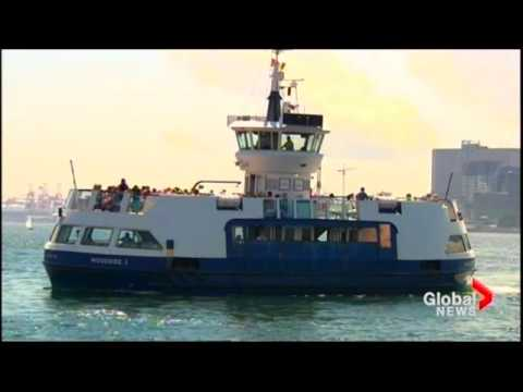 Global News Halifax July 27 2016   - HRM New Harbour ferry Ban