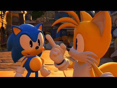 Sonic Forces Walkthrough - Part 1 - Stages 1-5
