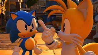 Sonic Forces Walkthrough - Part 1 - Stages 1-5