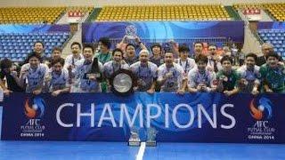 FINAL: Nagoya Oceans vs Chonburi Bluewave - AFC Futsal Club Championship 2014