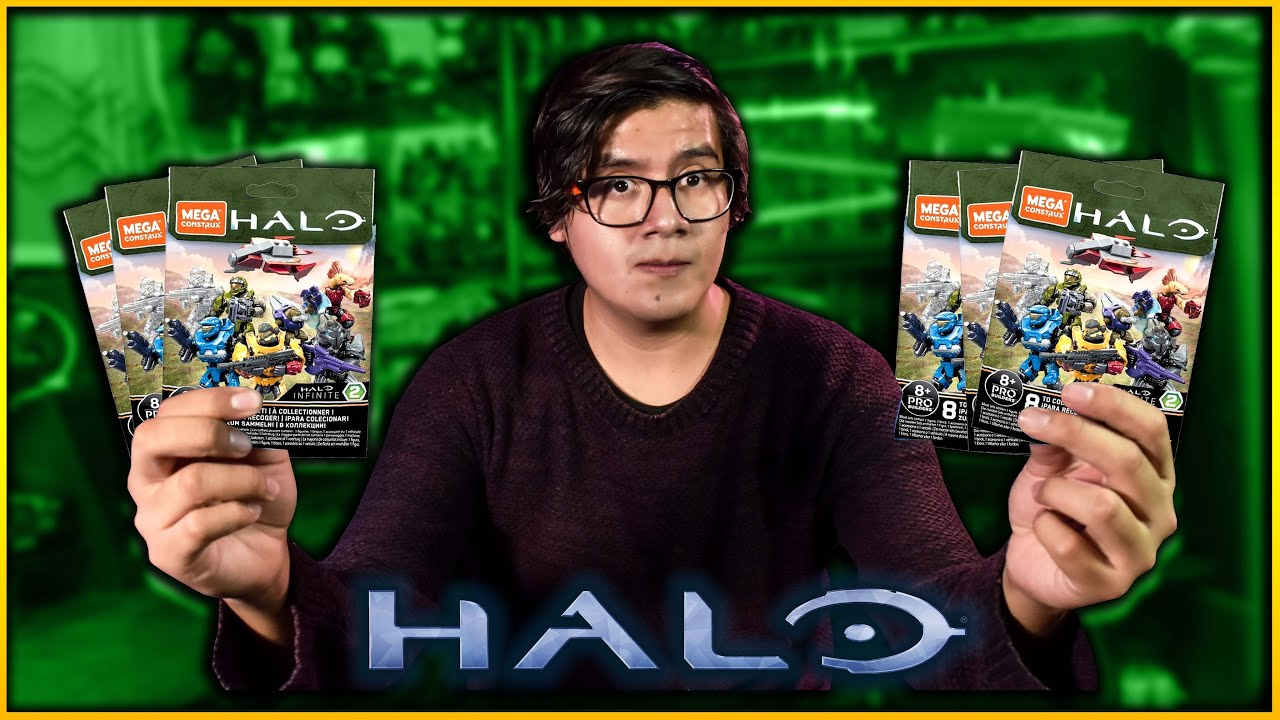 Download Abriendo Figuras de Halo Infinite Mega Construx Serie 2 | El tio pixel