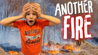 Another VERY CLOSE Wild Fire!    Mommy Monday