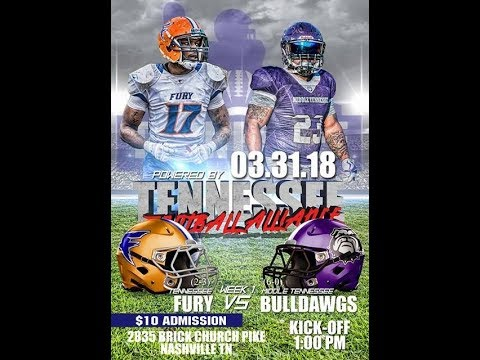 Tennessee Fury vs Middle Tennessee Bulldawgs
