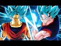 WHICH IS BETTER?! TEQ Vegito Blue VS AGL Transforming Goku! | DBZ Dokkan Battle