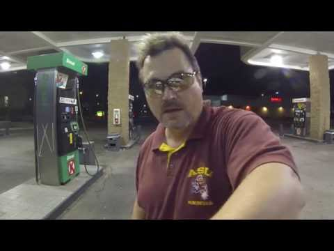 Video Simulation for Driving? Circle K Filling Station gives us Gas, Goodyear, AZ, 23 July GP032321