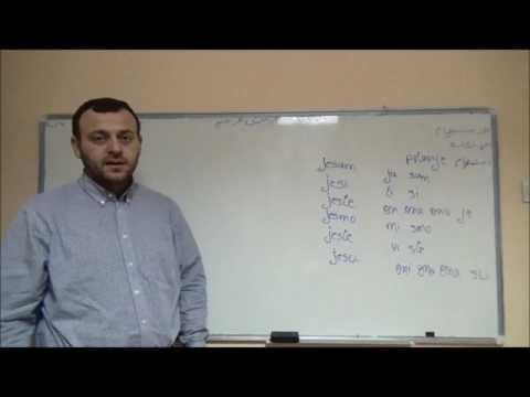 الدرس الخامس تعليم اللغة الصربية. الاستفهام والإشارة
