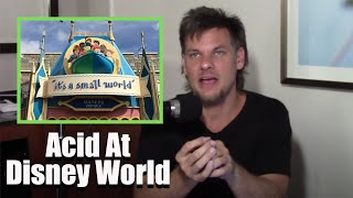 Theo Von Takes Acid on his Senior Trip to Disney World
