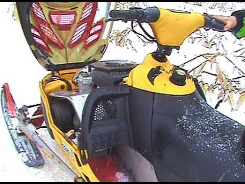 Snowmobile Trouble with the 2002 Skidoo MXZ 700  YouTube