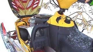 Snowmobile Trouble with the 2002 Ski-doo MXZ 700