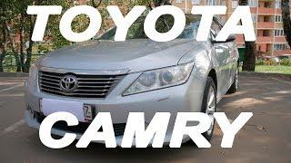 Toyota Camry Обзор Тест-Драйв Реально надежная машина