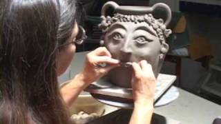 Creating a Georgia Face Jug with Janice Hall Shields