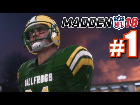 THE BEGINNING! | Madden 18 | Longshot #1