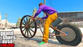 LA MOTO MAS RARA DEL MUNDO - (GTA V Online Funny Moments)