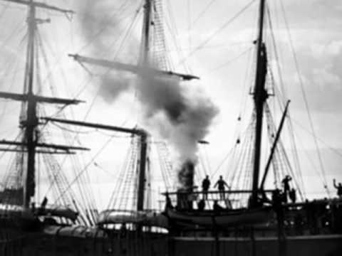 'The Balaena' -A Whaling Song with old photos from Dundee, Scotland.