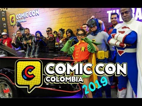 COMIC CON COLOMBIA 2019