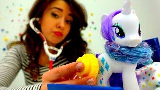 Видео для девочек с Пони: Рарити заболела