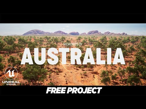 Download Rural Australia environment pack overview | RTX3080 | UE4