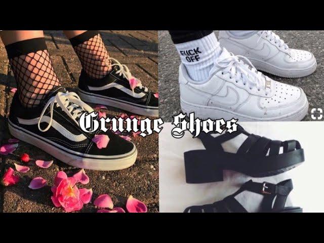 Grunge Aesthetic //shoes// - YouTube