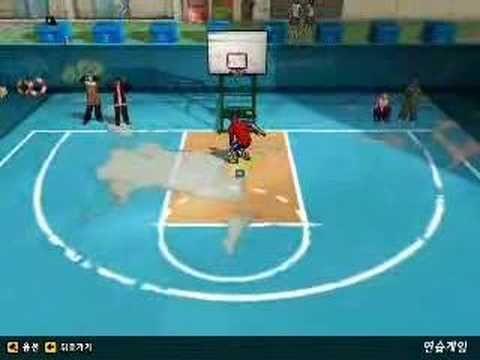 freestyle basketball korea online game 2007