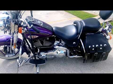 Harley Davidson Heritage Springer 2000 Minnesota Vikings Theme