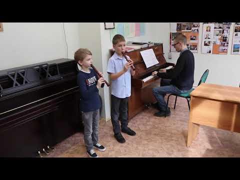 Престо, Моцарт, ансамбль блок-флейт