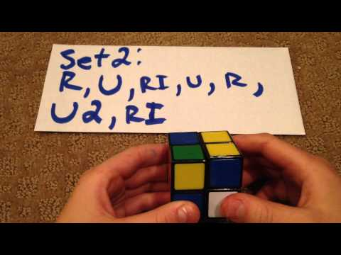 How to solve a 2x2x2 Rubik's Cube ( Easiest Way On YouTube )