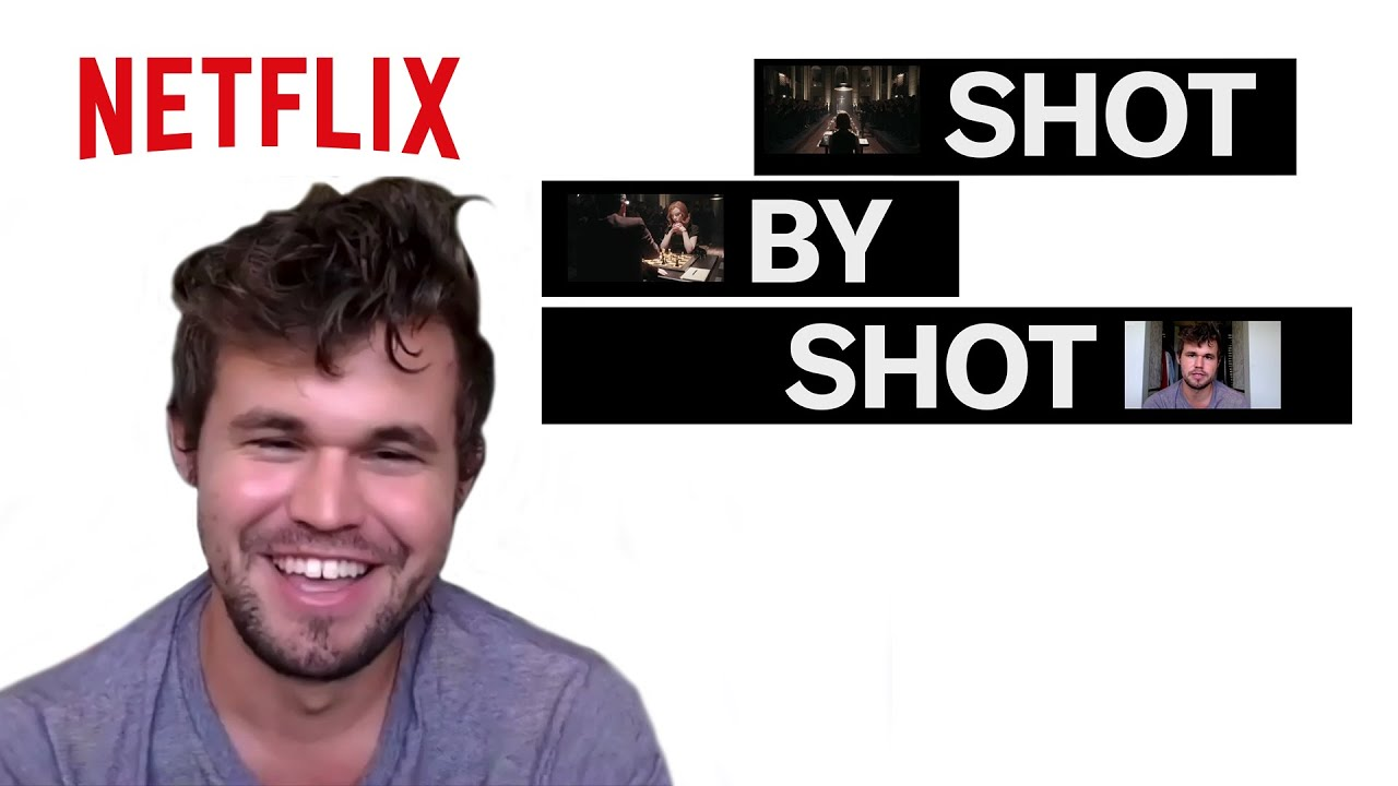 World Chess Champion Magnus Carlsen breaks down The Queen's Gambit   Shot by Shot   Netflix