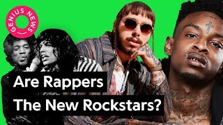 "What Post Malone's ""rockstar"" Says About The Evolution Of Rockstars 
