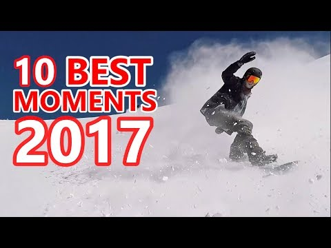 10 Best SnowboardProCamp Moments of 2017