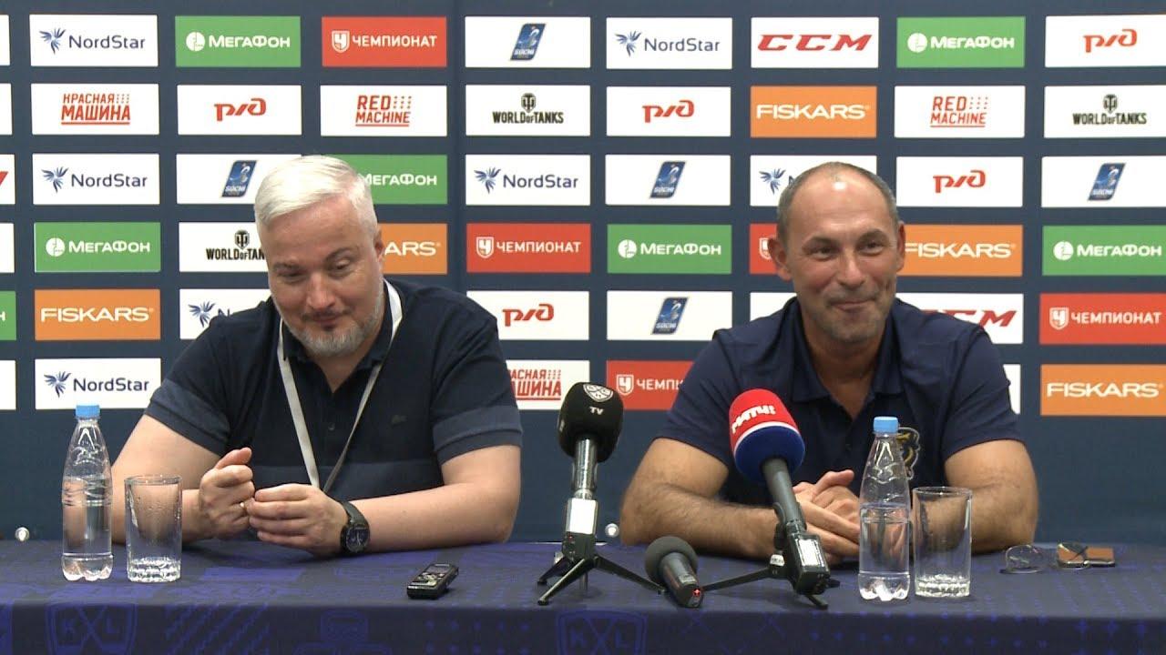 Встреча Сергея Воропаева и Сергея Зубова с журналистами