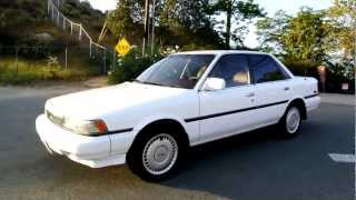 1988 Toyota Camry 1 Owner Amazing Records LE v6 SE 77k Miles XLNT For Sale