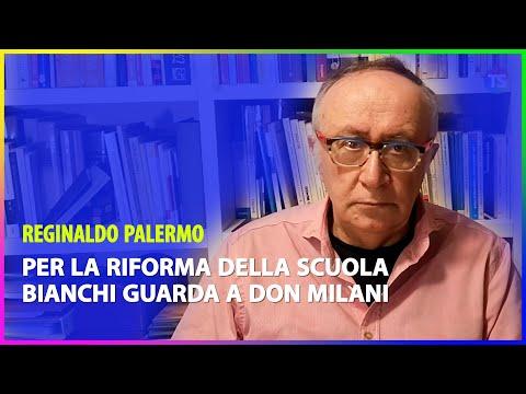 Per la riforma della scuola Bianchi guarda a Don Milani
