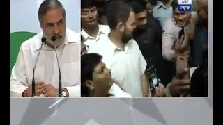financial chaos and anarchy in the country due to demonetisation says anand sharma congr
