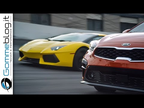 Kia Forte vs. Lamborghini Aventador | BETTER than V?